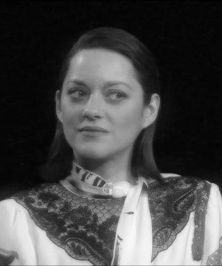 Marion Cotillard Wears a Mustache and Beret to Prove Everything Sounds Better in French