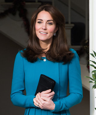 Kate Middleton Stuns in Teal During Official Visit in Warminster