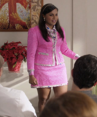 Mindy Sported Some Lavish Flashback Fashion on This Week's The Mindy Project