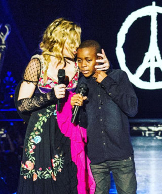 Madonna Pays Tribute to Victims of Paris Terrorist Attacks with Surprise Performance with Son David