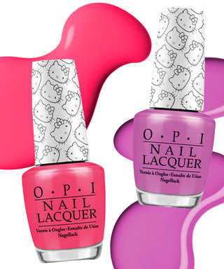 Hello Kitty and OPI Are Launching the Cutest Nail Polishes Ever