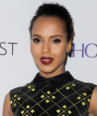 The Most Festive Holiday Beauty Look, According to Kerry Washington's Makeup Artist