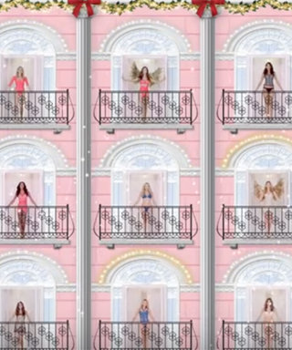 """When Angels Sing: Watch Victoria's Secret Models Belt Out """"The 12 Days of Christmas"""""""