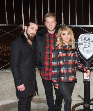 Pentatonix Teams Up with Empire State Building for Light Show of Hit Song