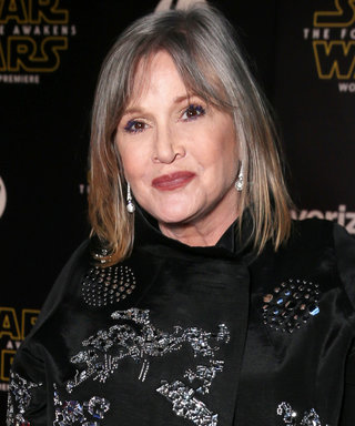"""Carrie Fisher Calls Out Shamers on Twitter: """"Please Stop Debating Whether or Not I Aged Well"""""""