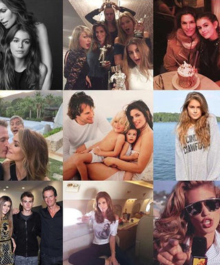 Cindy Crawford, Kylie Jenner, and More Share Their #2015BestNine Instagrams