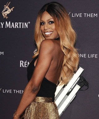 See Laverne Cox Slay in a Sexy Cutout Swimsuit