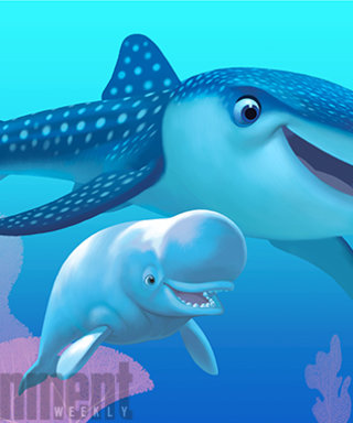 Pixar Shares a First Look at 2 New Characters from Finding Dory