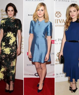Downton Abbey Cast's Chic, Off-Screen Style Moments