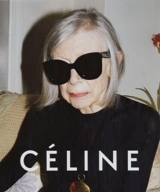 Ever-Cool Literary Icon Joan Didion Stars in Céline's Spring Ad Campaign