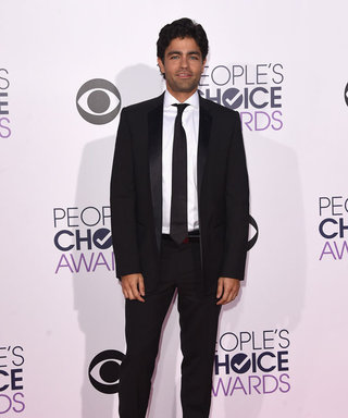 Adrian Grenier in Dolce & Gabbana at 2015 People's Choice Awards