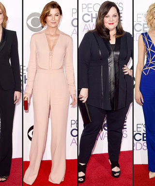 The 2015 People's Choice Awards Red Carpet Was All About Pants