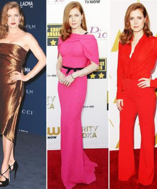 See Golden Globes Nominee Amy Adams's Most Timeless Red Carpet Looks