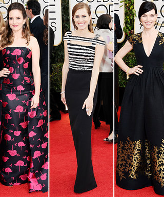 Scoop! What Tina Fey, Allison Williams, and Julianna Margulies Will Be Wearing to the Golden Globes