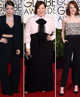 No Girly Gowns Here! See the Stars Who Did Dapper Right