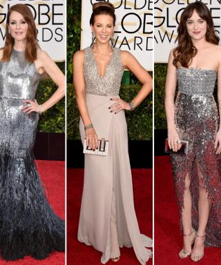Golden Globes Red Carpet Trend Alert: Modern Metallic Embellishments