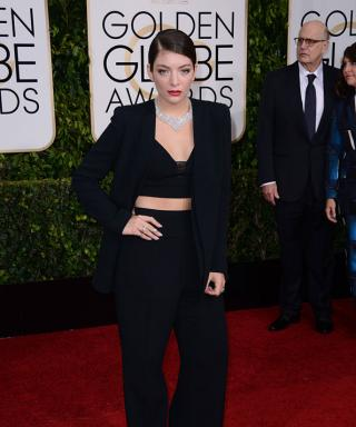 Lorde Has Never Looked Better: See Her Midriff-Baring Golden Globes Pantsuit