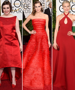 Surprise! Red Dominates the Red Carpet Again at the 2015 Golden Globes