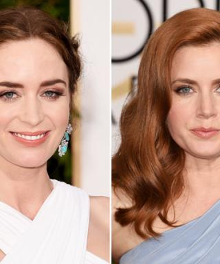 How You Can Get Emily Blunt's and Amy Adams's Golden Globes Hairstyles