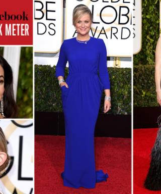 What Were You Buzzing About During the Golden Globes? The InStyle-Facebook Red Carpet Talk Meter Tells All!