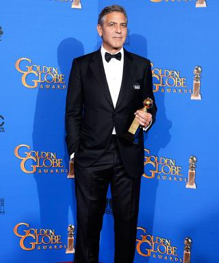 George Clooney Wears His Wedding Tuxedo to the Golden Globes