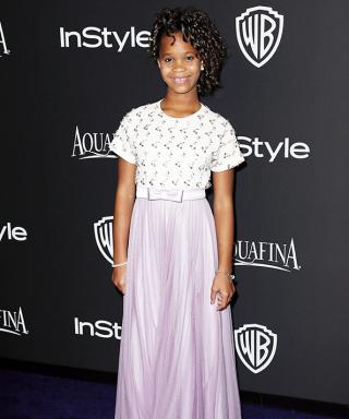 "Quvenzhané Wallis Spills On Her Favorite Part of Golden Globes Night: ""The Parties"""
