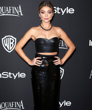 "Sarah Hyland on Her Super Hot Golden Globes After-Party Look: ""Spanx Are a Blessing, That's All I Have to Say"""