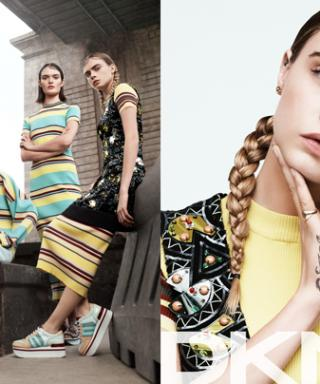 Cara Delevingne Stars In DKNY's Downtown-Cool Spring 2015 Ad Campaign