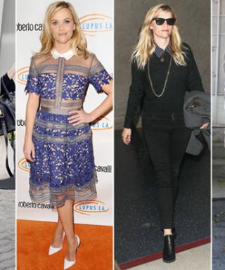 Reese Witherspoon Shows Her Collars in FourChic Ensembles