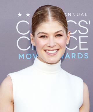 Get Rosamund Pike's Ethereal Beauty Look from the Critics' Choice Movie Awards!