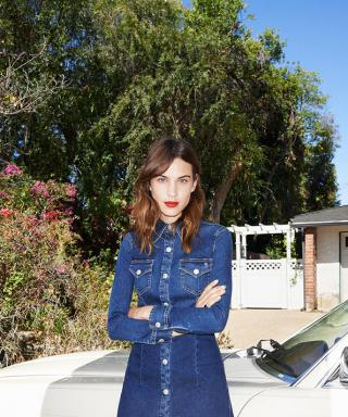 Channel Your Inner Cool Girl with Alexa Chung's New AG Jeans Collaboration