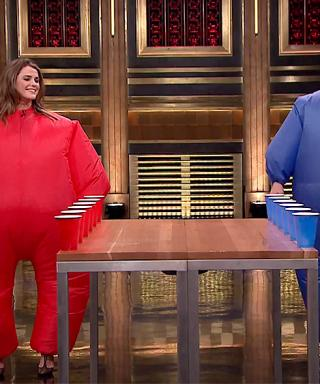 Watch Keri Russell Play Inflatable Flip Cup Against Jimmy Fallon