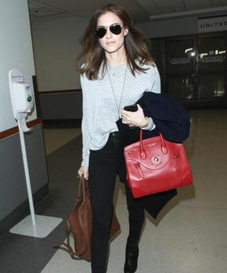 Looking Fly! Allison Williams Nails Casual-Cool Airport Style