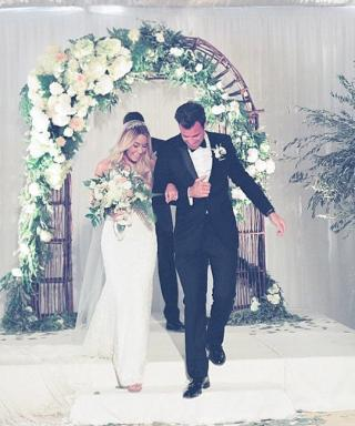 Lauren Conrad Posts a #TBT, Reminds Us of Her Wedding Dress's Magnificence