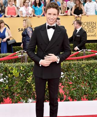 Eddie Redmayne Is Devilishly Handsome at the 2015 SAG Awards
