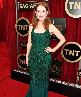 We're Green with Envy Over Julianne Moore's SAG Awards Dress