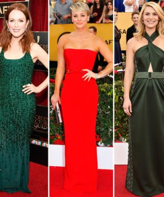 A Rainbow of Dresses Took Over the 2015 SAG Awards Red Carpet