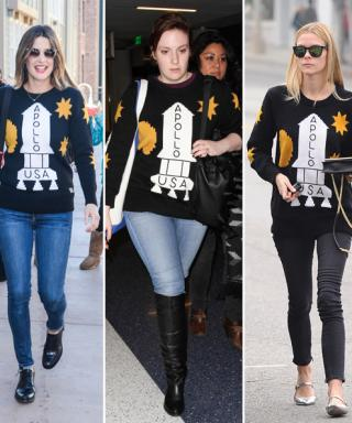 Reach for the Stars: Celebs Love Coach's Graphic Apollo Spaceship Sweater
