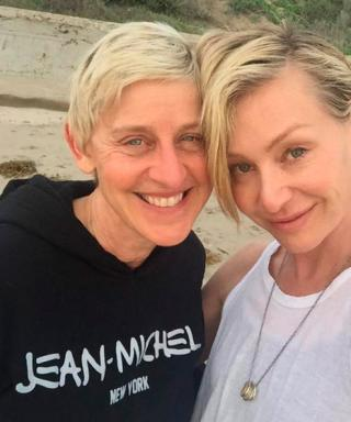 Ellen DeGeneres Celebrates Turning 57 with Portia de Rossi and Bare-Faced Selfies