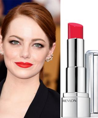 We Tracked Down Emma Stone's Exact Bold Red Lip from the 2015 SAG Awards