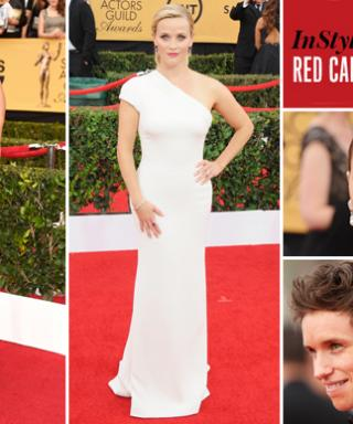 What Were You Buzzing About During the #SAGAwards? The InStyle-Facebook Red Carpet Talk Meter Tells All!