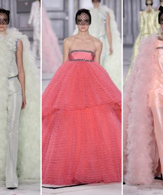 "Calling Lena Dunham! Giambattista Valli Whips Up a New ""Cupcake Dress"" For Spring 2015 Couture"