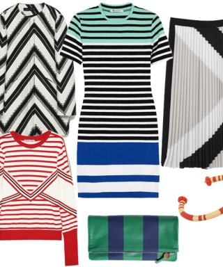 Now Trending: New Takes on Timeless Stripes