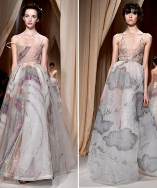 Walking on Air: Valentino's Spring 2015 Couture Creations Are Beyond Dreamy