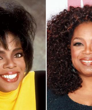 From a Shaggy Crop to a Sleek Pompadour, See Oprah's Best Beauty Moments in Honor of Her Birthday