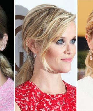 3 Ponytails 3 Ways: Nail Reese Witherspoon's Go-To Hairstyle