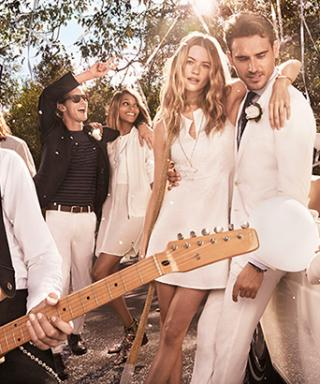"Behati Prinsloo Says ""I Do"" to an Adam Levine-Lookalike In Tommy Hilfiger Ad Campaign"
