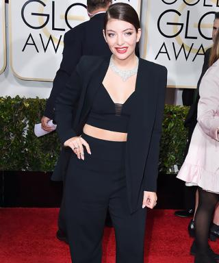 What Does Lorde Do with Her Outfit After an Awards Show?
