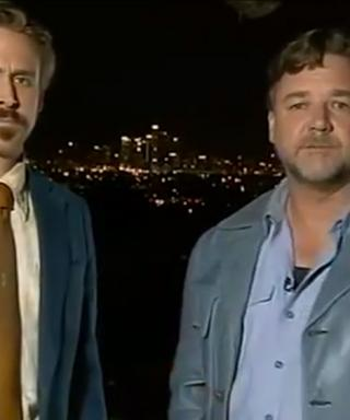 Ryan Gosling Crashes Russell Crowe's Speech, Proves We Actually Can Love Him More