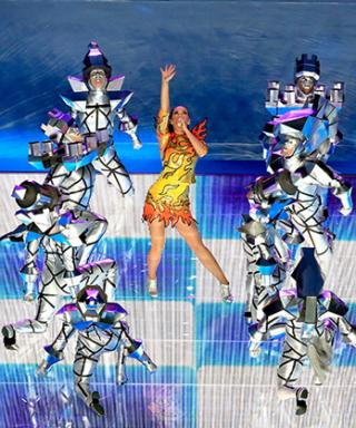 Katy Perry's Super Bowl Halftime Performance Was Epic (Here Are the Looks That Prove It)